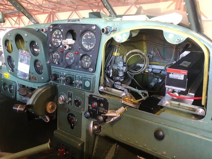 KUA cockpit